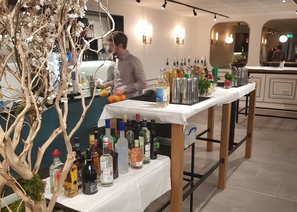 Free custom cocktails at The Astley
